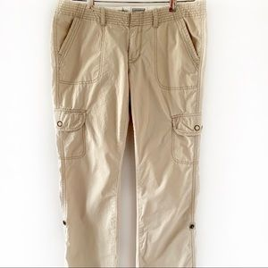 Converse One Star Convertible Cotton Pants Size 6